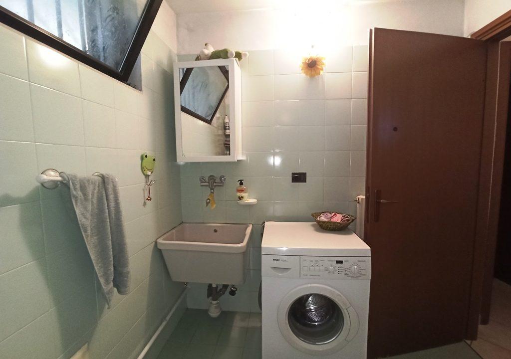 bagno seminterrato casa a schiera Casale di Mezzani