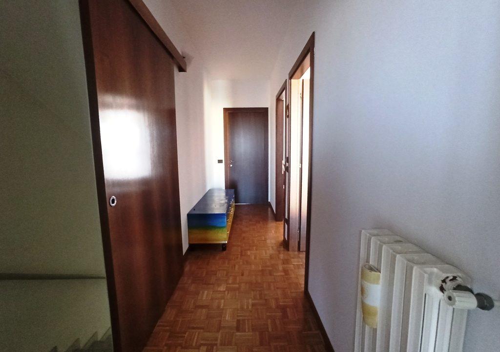 corridoio casa a schiera Casale di Mezzani