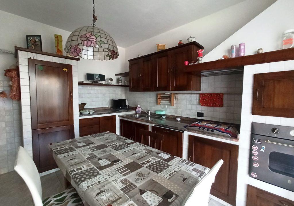 cucina casa a schiera Casale di Mezzani