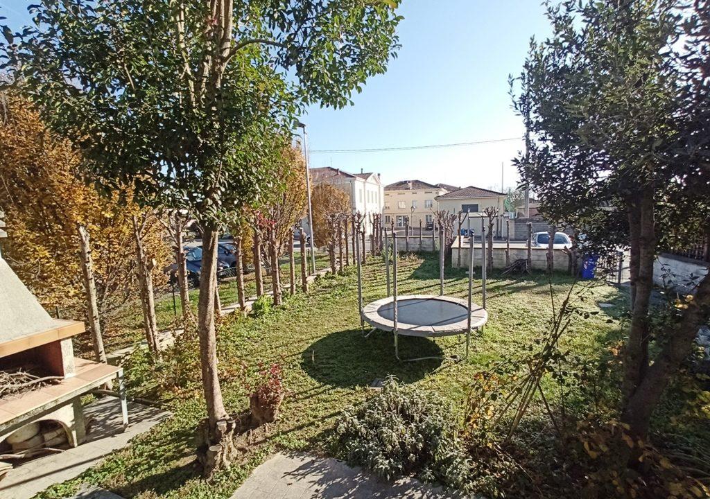 giardino casa a schiera Casale di Mezzani