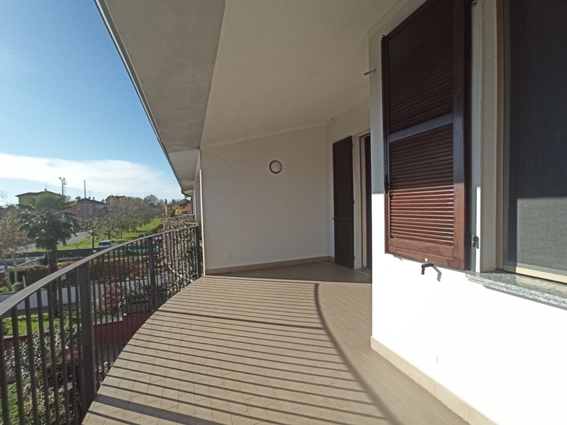 terrazzo casa a schiera Casale di Mezzani