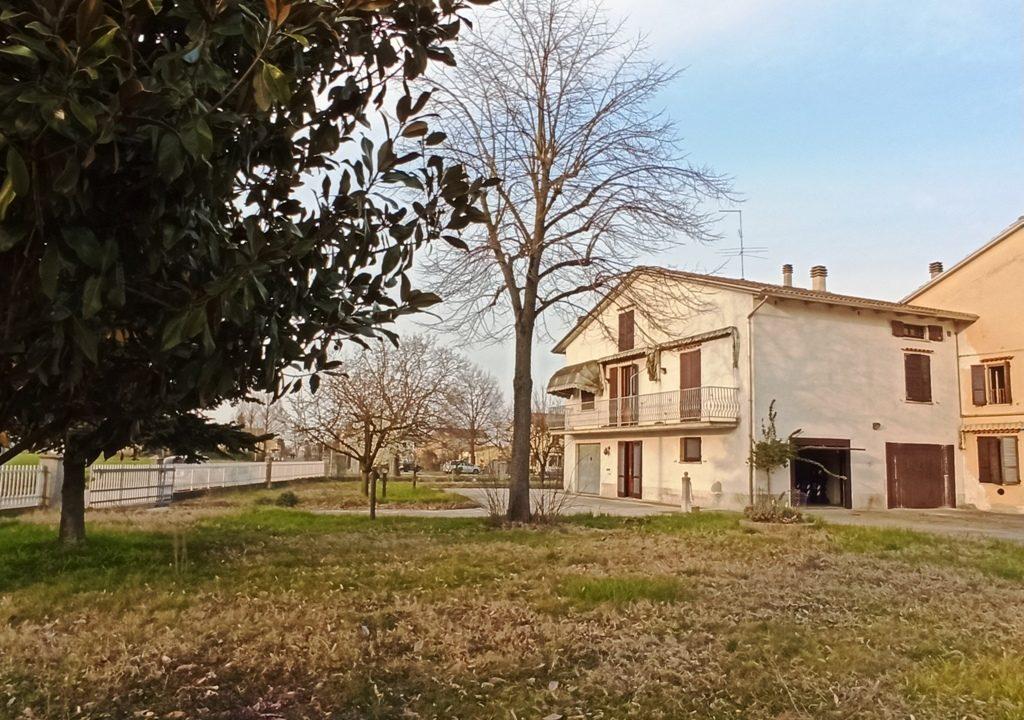 facciata villa Sissa campagna
