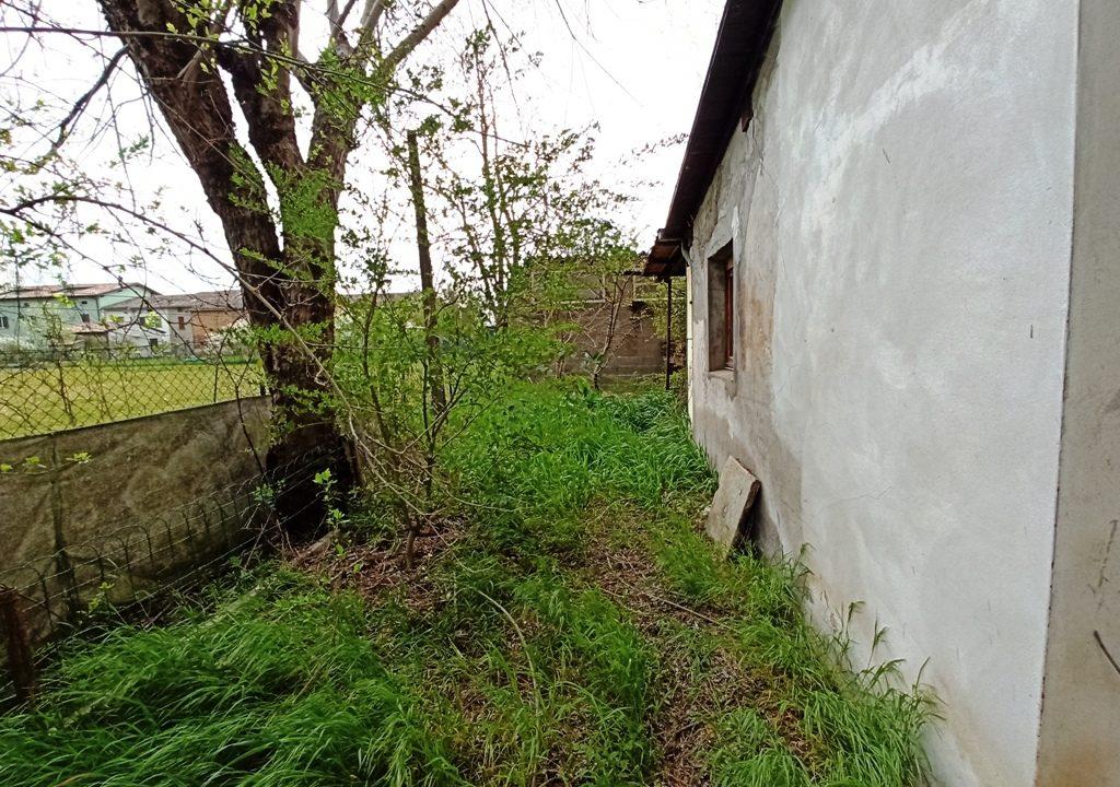 giardino casa a schiera Coltaro
