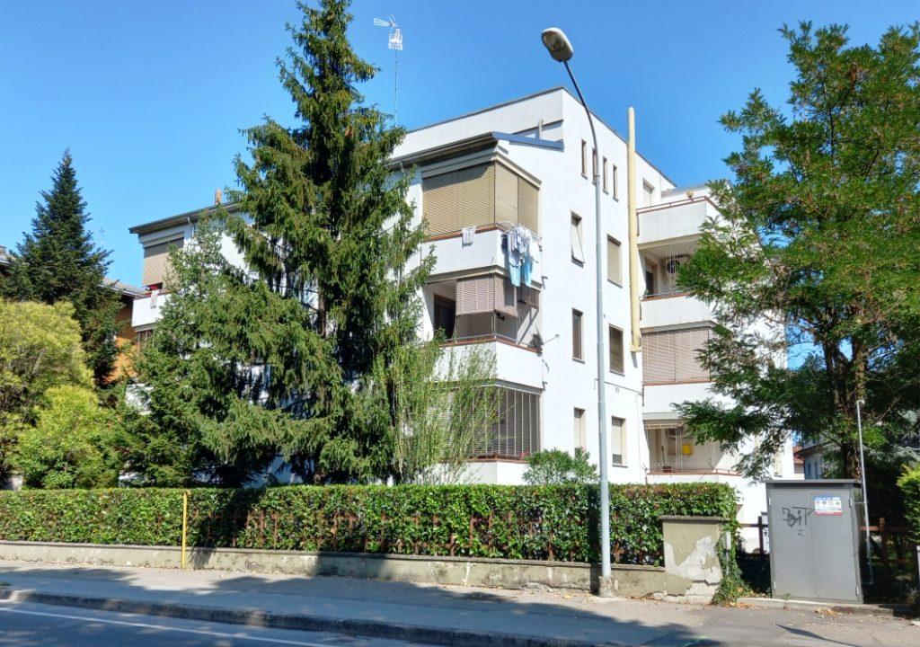facciata appartamento restaurato Colorno