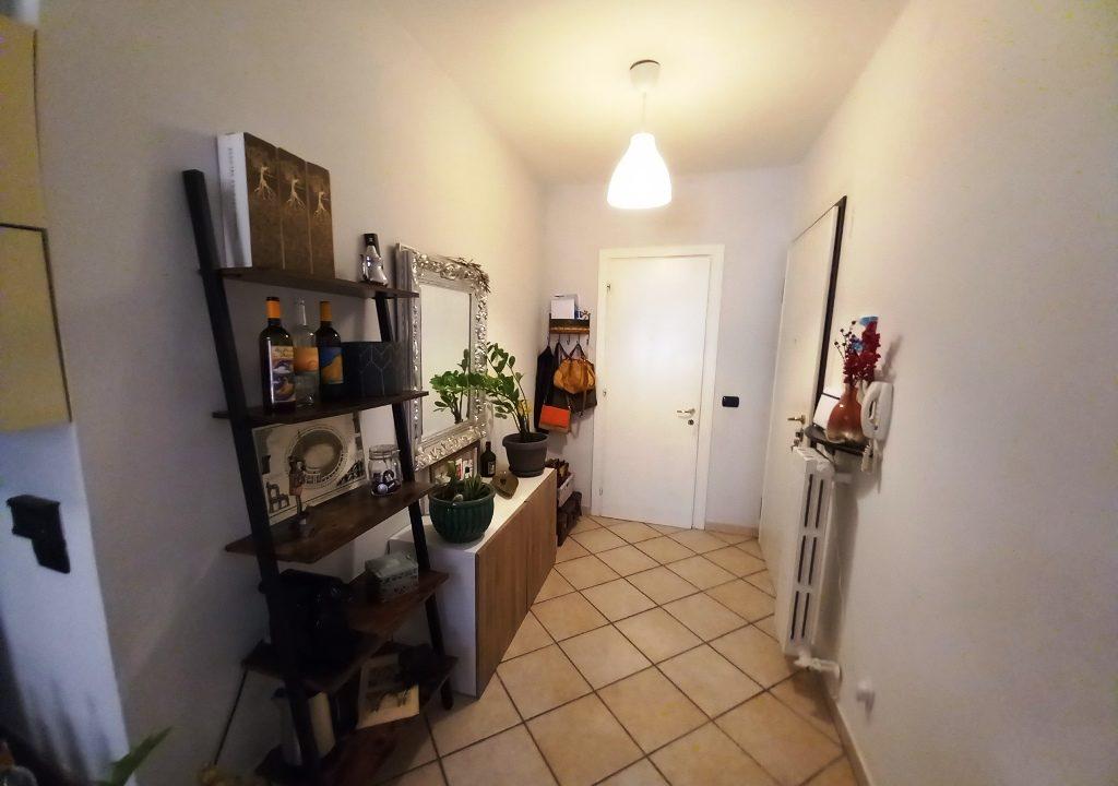 ingresso appartamento restaurato Colorno